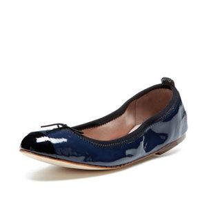 Bloch London Luxury Cap Toe Patent Ballet Flats 37